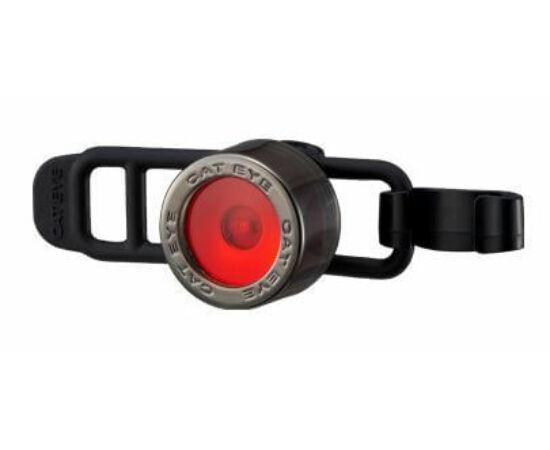 Cateye Nima 2 TL-LD135R gumipántos hátsó  villogó lámpa, 1 LED, ezüst