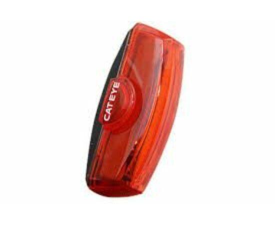 Cateye Rapid X2 TL-LD710 hátsó lámpa, USB-ről tölthető, gumipántos