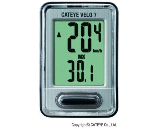 Cateye Velo 7 CC-VL520 vezetékes kerékpár komputer
