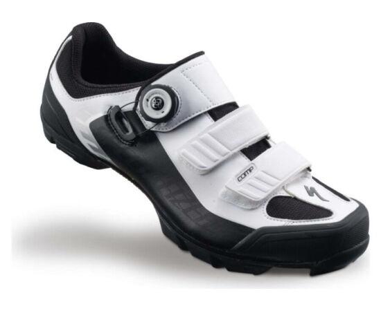 Specialized Comp MTB kerékpáros cipő, fehér-fekete, 42-es
