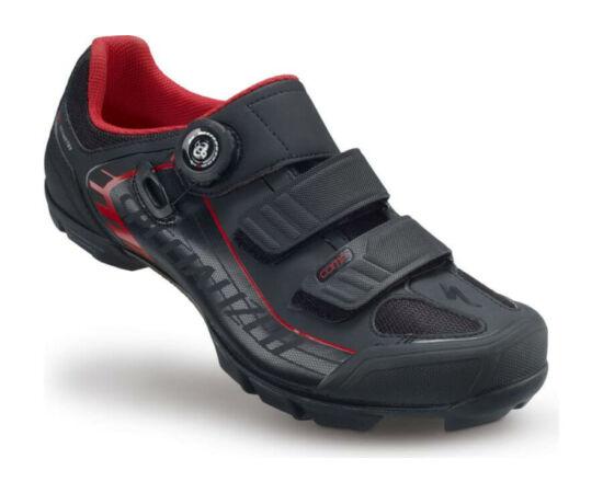 Specialized Comp MTB kerékpáros cipő, fekete-piros, 44,5-es