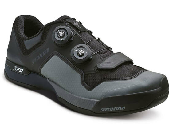 Specialized 2FO Cliplite SPD MTB kerékpáros cipő, fekete-szürke, 44-es