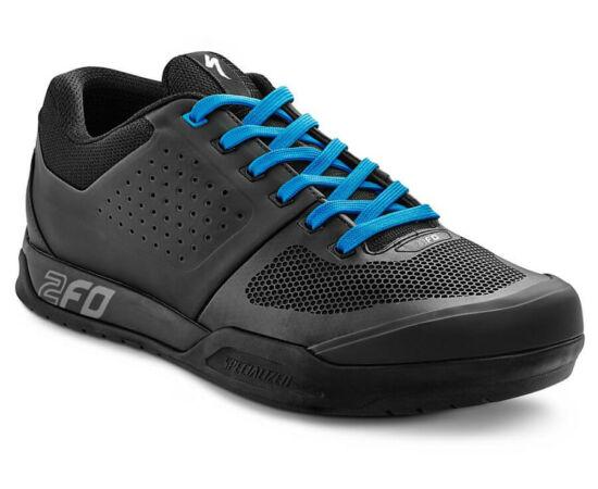 Specialized 2FO FLAT MTB kerékpáros cipő, fekete-kék, 45,5-es