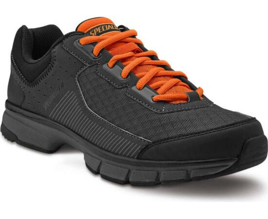 Specialized Cadet SPD MTB kerékpáros cipő, fekete-narancs, 45-ös