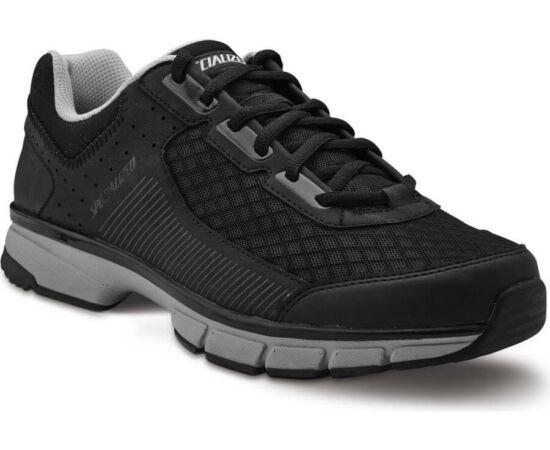 Specialized Cadet SPD MTB kerékpáros cipő, fekete-szürke, 45-ös
