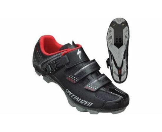 Specialized Comp SPD MTB kerékpáros cipő, fekete-piros, 39-es