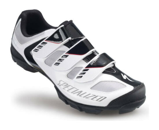 Specialized Sport MTB kerékpáros cipő, fehér-fekete, 43-as