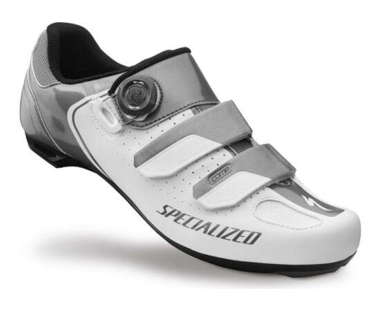 Specialized Comp Road országúti kerékpáros cipő, fehér-titán, 44-es