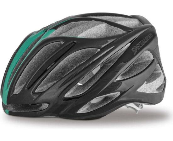 Specialized Aspire női országúti bukósisak - fekete-zöld - L (57-63cm)