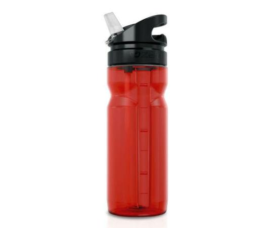 Zefal Trekking 700 kulacs, 700 ml, csavaros, kihajtható szeleppel. piros