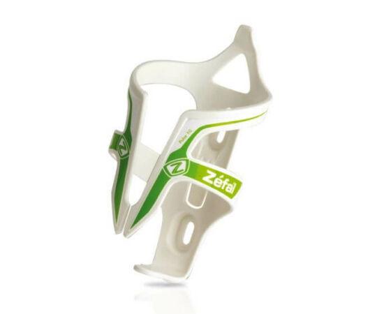 Zefal Pulse üvegszálas műanyag kulacstartó, 40g, fehér-zöld