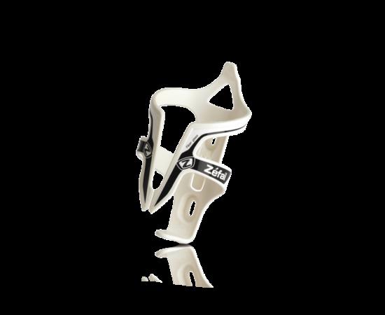 Zefal Pulse üvegszálas műanyag kulacstartó, 40g, fehér-fekete