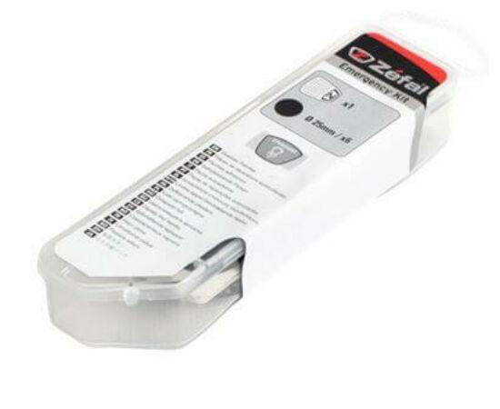 Zefal Emergency Kit öntapadós gumijavító folt készlet, 6 db
