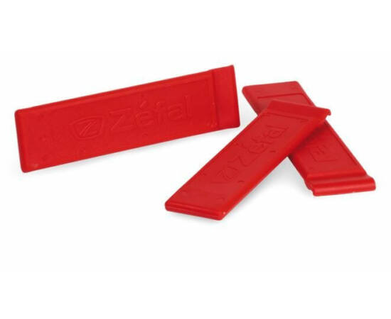 Zefal Z Levers műanyag gumileszedő készlet, 3 db, piros