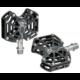 Tioga Spyder ipari csapágyas alumínium platform pedál cserélhető tüskékkel, fekete