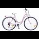 Neuzer Ravenna 6 Plus női városi kerékpár, halvány rózsaszín