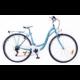 Neuzer Ravenna 6 Plus női városi kerékpár, türkiz