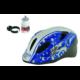 Polisport Speedy Mouse  gyerek bukósisak 50-56 cm, ajándék kulaccsal, fehér-kék