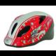 Polisport Speedy Mouse  gyerek bukósisak 50-56 cm, ajándék kulaccsal, fehér-piros