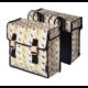 Basil Star két részes táska csomagtartóra, 35L, mintás