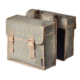 Basil Star két részes táska csomagtartóra, 35L, szürke, mintás