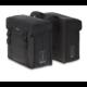 Basil Kavan két részes táska csomagtartóra, 45L, fekete