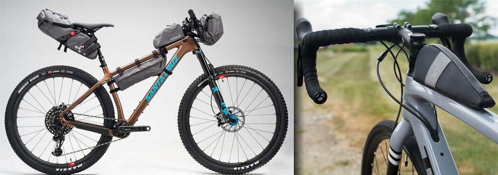 3k_bikepacking túra közlekedés mibe pakold a cuccot a kerékpáron, melyik táska hova és mire való