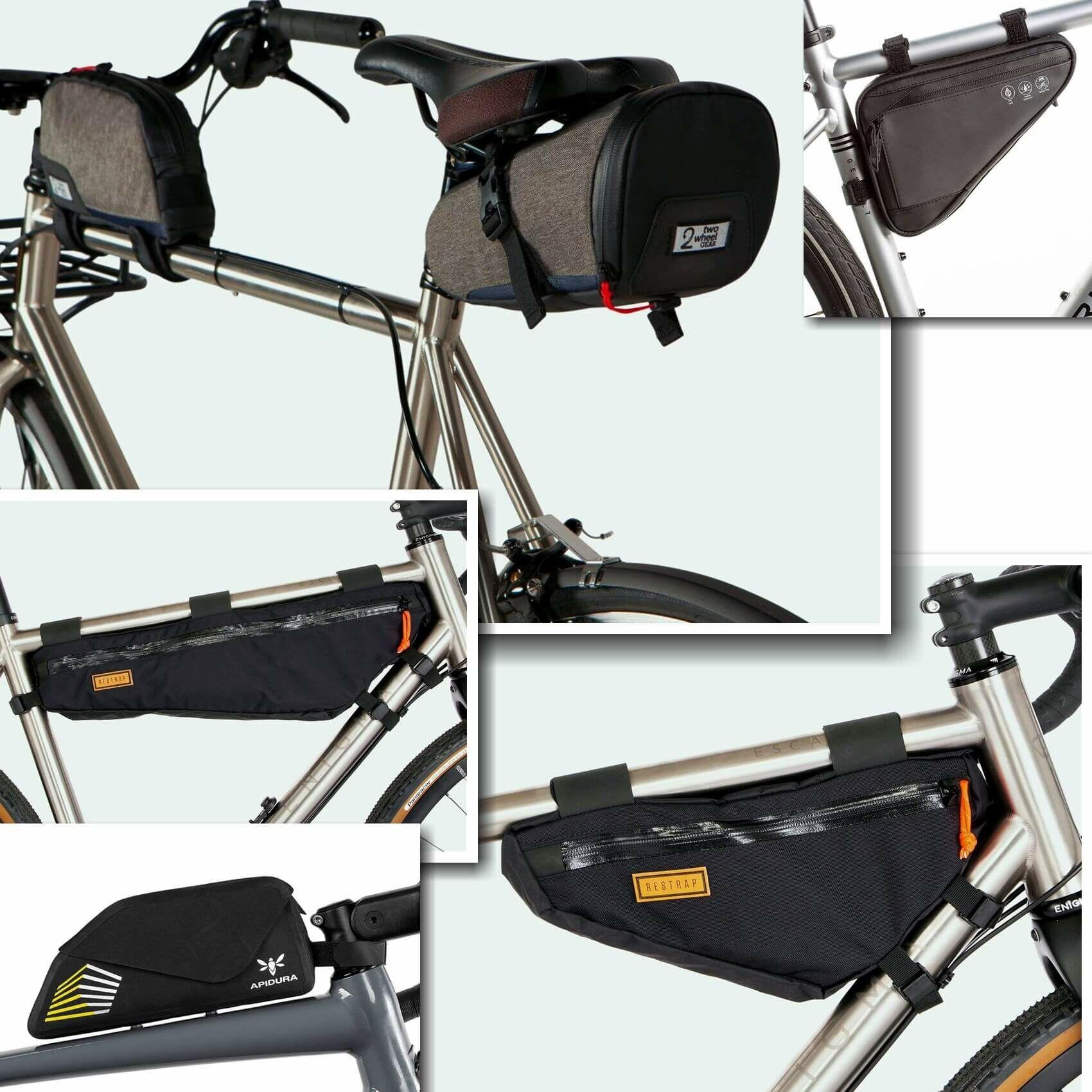 4k_bikepacking túra közlekedés mibe pakold a cuccot a kerékpáron, melyik táska hova és mire való