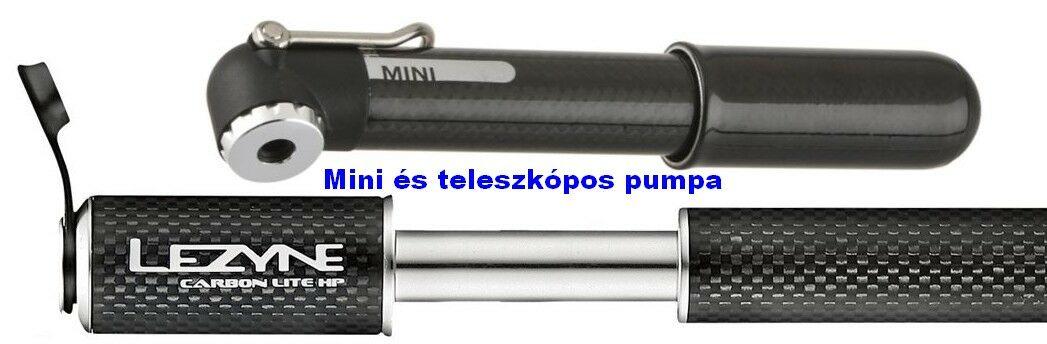 Mini és teleszkópos pumpa - bikepro.hu