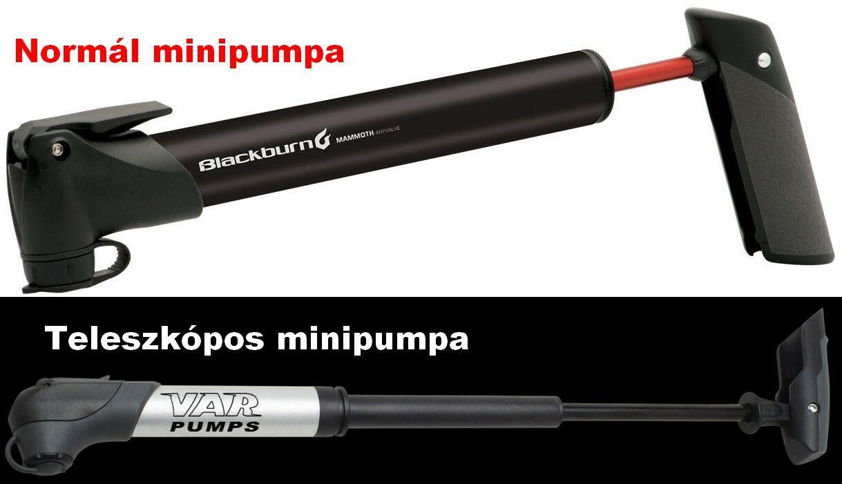 Normál és teleszkópos minipumpa - bikepro.hu