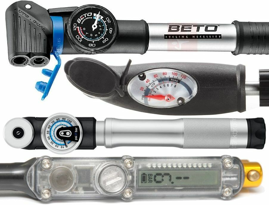 Minipumpa nyomásmérő típusok - bikepro.hu