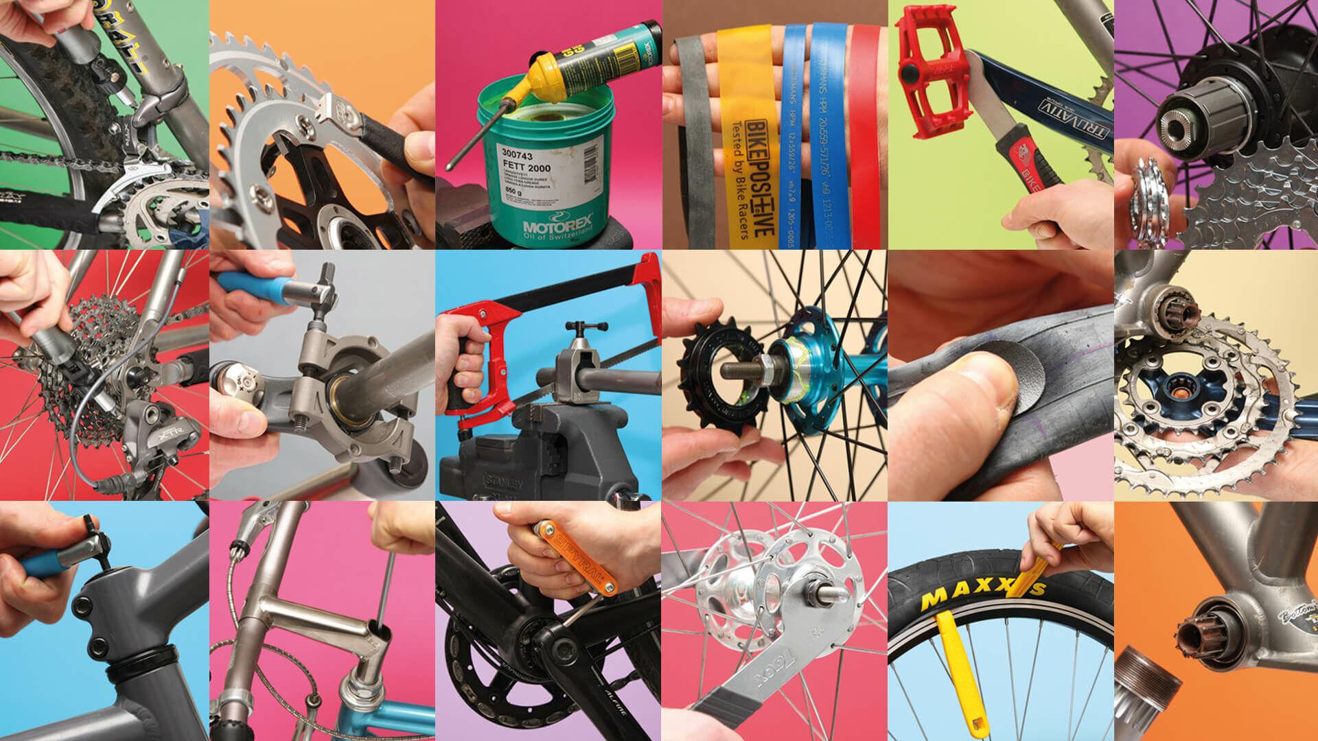 kerékpárszerelés