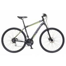 Neuzer X300 2018 férfi 28-as krossz kerékpár, alumínium, 24s, 21-es vázméret, fekete-zöld-szürke