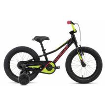 Specialized Riprock Coaster 16-os gyerek kerékpár, alumínium, 1s, fekete-zöld-rózsaszín