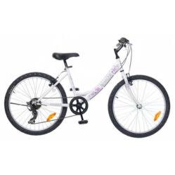 859349be7107 Neuzer Cindy 24-es lány kerékpár, 6s, fehér