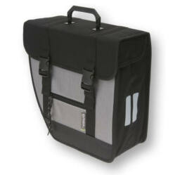 6145eafd630f Basil Tour Single egy részes táska csomagtartóra, bal oldali, 17L,  fekete-szürke