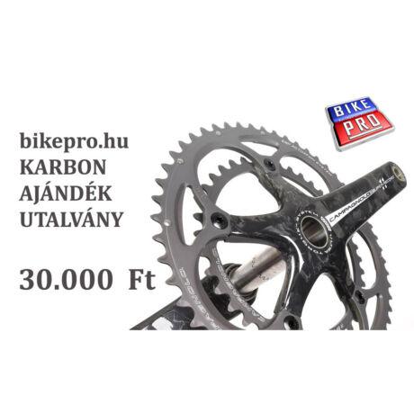 bikepro.hu KARBON ajándék utalványkártya (30000Ft)