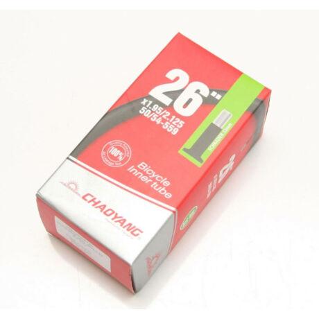 CYT 20 x 1,95-2,125 (50/54-406) belső gumi, DV33 (33 mm hosszú szeleppel, dunlop)