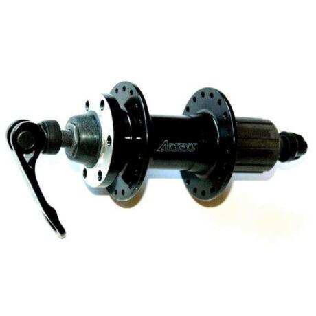 Assess BC-AE-963RDQ hátsó kerékagy, 36H, kazettás lánckeréksorhoz, gyorszáras, tárcsafékes, fekete