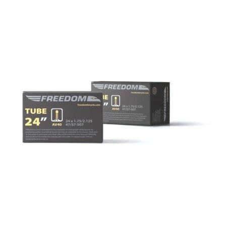 Freedom 24 x 1,75-2,125 (47-57x507) belső gumi, AV40 (40 mm hosszú szeleppel, autós