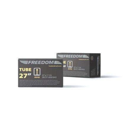Freedom 27 x 1 1/4 (28-37/609-642) belső gumi, AV40 (40 mm hosszú szeleppel, autós