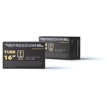 Freedom 16 1,75-2,125 (47-55x305) belső gumi, AV40 (40 mm hosszú szeleppel, autós
