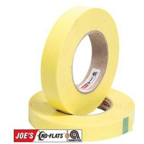 Joe's No-Flats Yellow Rim Tape öntapadós tubeless - és tömlővédő szalag, 60 m x 21 mm
