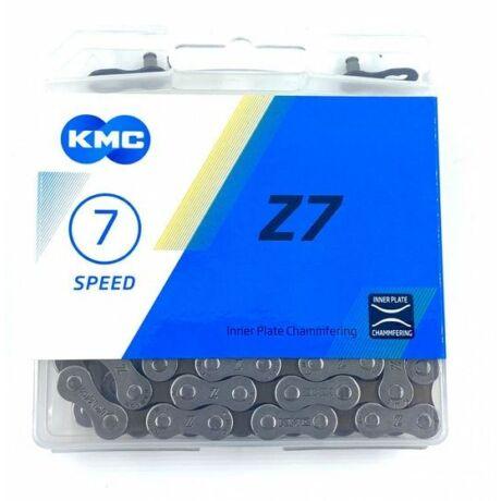 KMC Z7 kerékpár lánc, 7s, 116 szem
