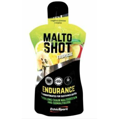EthicSport MaltoShot Endurance zselé (gél), 50ml, trópusi ízű