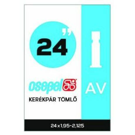 Csepel 24x1,95-2,125 (507x50-57) belső gumi, AV35 (35 mm hosszú szeleppel, autós)