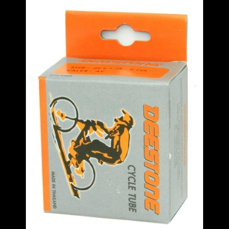 Deestone 16 x 1,5-1,75 (38/47-305) belső gumi 32 mm hosszú szeleppel, autós