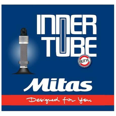 Mitas (Rubena) 24 x 1,0-1,5 (25/37-540) kerekesszék belső gumi DV40 (40 mm hosszú szeleppel, dunlop)