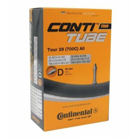 Continental Tour28 All 28x1,25-1,75 (622-642 x 32-47) DO trekking belső gumi, D40 (40 mm hosszú szeleppel, dunlop)