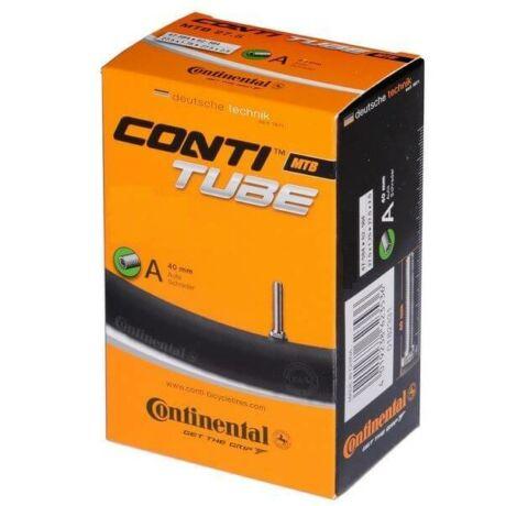Continental MTB29 29 x 1,75-2,45 (47/62-622) DO MTB belső gumi, AV40 (40 mm hosszú szeleppel, autós) Dobozos kiszerelésű belső gumi 29-es motikhoz.